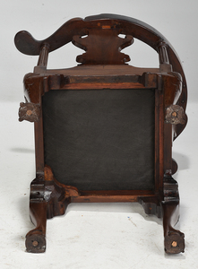 George II Carved Mahogany Corner Chair