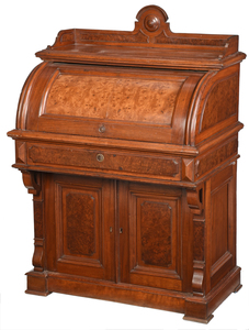 Victorian Cylinder Desk, Historic Carnton Home