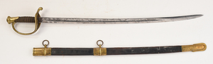 Rare and Important General Felix Zollicoffer's Civil War Foot Officer's Sword
