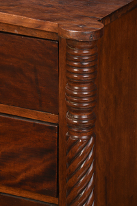 New England Late Federal Chest of Drawers