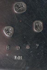 Rare E.J. Dent Silver Pocket Watch