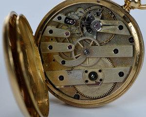 18kt. Pocket Watch, Case marked Patek Philippe