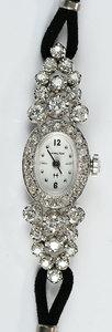 Hamilton 14kt. Diamond Watch