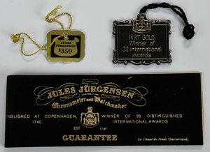 Jules Jurgensen 14kt. Pocket Watch