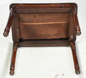 Victorian Walnut One Drawer Table