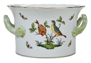 Herend Rothschild Bird Porcelain Ice Bucket