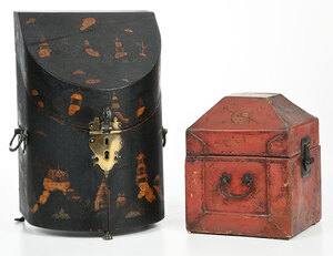 Two Decorated Boxes in the Chinese Taste