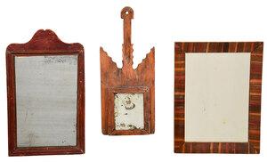 Three Early Wall Mirrors