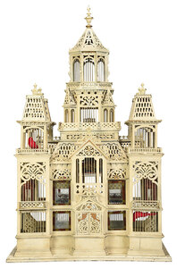 Large Victorian Architectural Birdcage