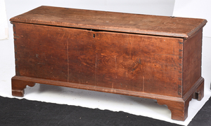 Early Southern Walnut Blanket Chest