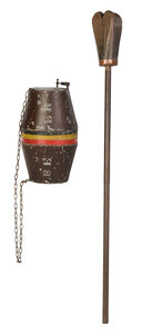 German Beer Sign and French Grape Masher
