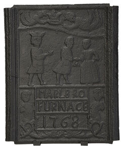 Shenandoah Valley Cast Iron Stove Plate