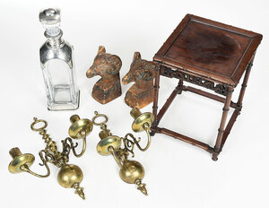 Asian Stands, Sconces, other Table Accessories