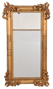Classical Carved Giltwood Pier Mirror