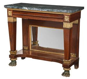 Rare Philadelphia Egyptian Revival Pier Table