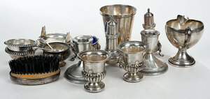 23 Pieces Assorted Silver Items