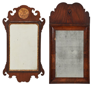 Chippendale Mirror, William and Mary Style Mirror
