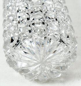 Brilliant Period Cut Glass Perfume Bottle