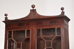 Rare Historic Georgia Federal Desk and Bookcase
