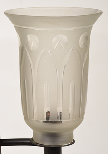 Pair Baltimore Two Light Argand Lamps