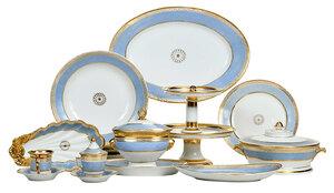 101 Piece Paris Porcelain Dinner Service