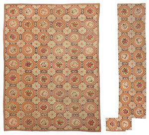 Palace Size Needlework Carpet with Extra Panels