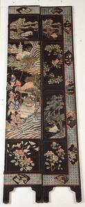 Fine Chinese Coromandel Lacquer Twelve Panel Screen