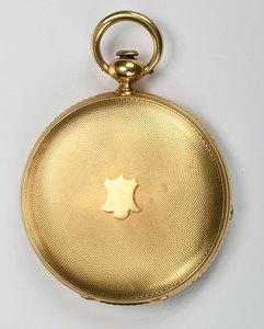 Antique Breitling- Laederich 18kt. Pocket Watch