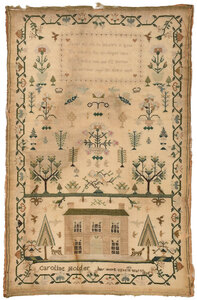 1833 House and Verse Needlework