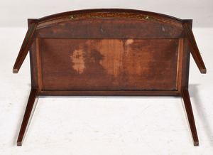 Adam Paint Decorated Mahogany Writing Table