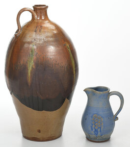 Two pieces of Contemporary Pottery