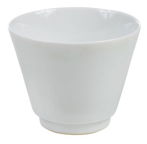 A Chinese Celadon Glazed Porcelain Cup