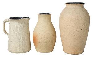 Three Pieces Bachelder Pottery