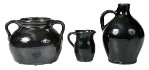 Three Pieces of Bachelder Pottery