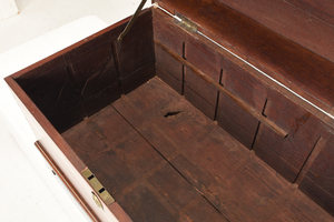 Chippendale Walnut Bottle Case