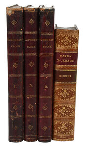 Two Charles Dickens Leather Bindings