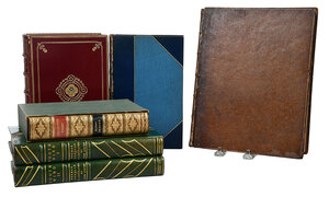 Five Fine Leather Bindings