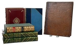 Five Fine Leather Bindings