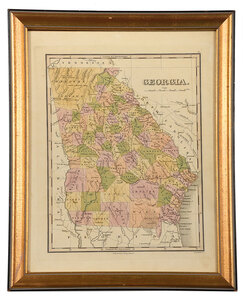 Finley - Map of Georgia, 1831