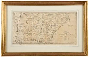 Morse & Bradley - Map of the Southern United States
