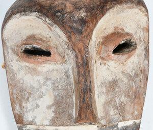 African White Spirit Mask