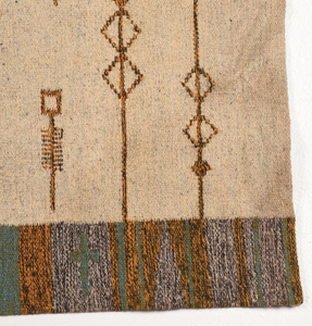 Contemporary Wool Wall Hanging