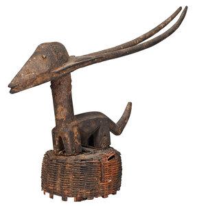 West African Chiwara Antelope Headdress