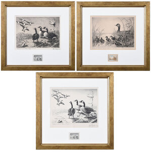 Three Federal Duck Stamp Prints