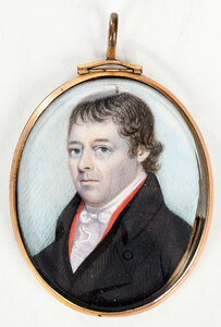 British School Portrait Miniature