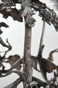 Georgian Style English Silver Epergne