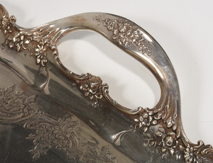 Tiffany Sterling Two Handle Tray