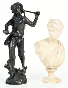 Two Continental Sculptures