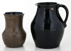 Two Pieces Bachelder Pottery