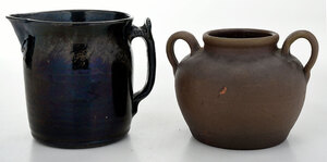 Two Pieces of  Bachelder Pottery